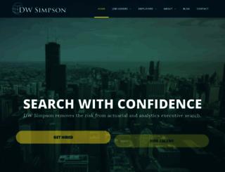 dwsimpson.com screenshot