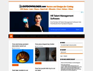 dxfdownloads.com screenshot