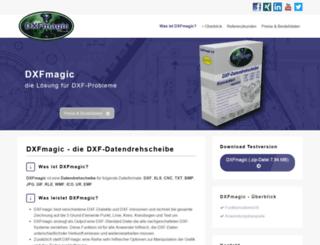 dxfmagic.de screenshot