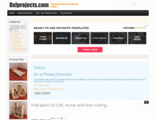dxfprojects.com screenshot