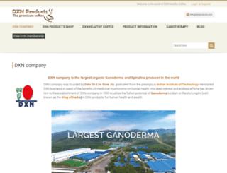 dxnproducts.com screenshot