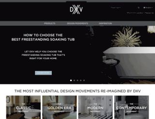 dxv.com screenshot