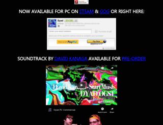 dyadgame.com screenshot