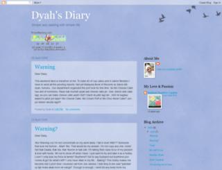 dyahsdiary.blogspot.com screenshot