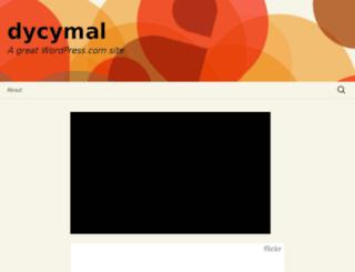 dycymal.wordpress.com screenshot