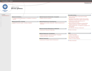 dydaktyka.polsl.pl screenshot