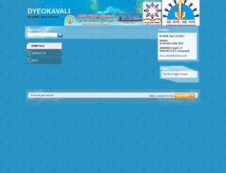 dyeokavali.webnode.com screenshot