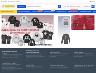 dyetee.com screenshot
