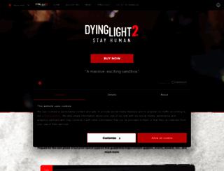 dyinglightgame.com screenshot