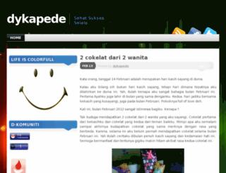 dykapede.wordpress.com screenshot