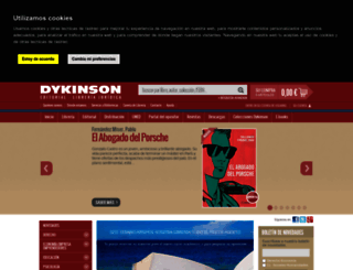 dykinson.es screenshot