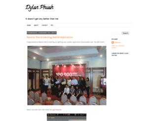 dylan-zd.blogspot.com screenshot