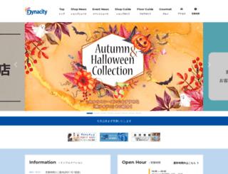 dyna-city.com screenshot