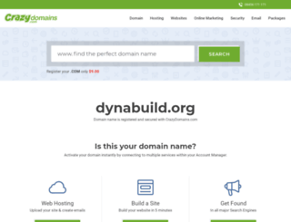 dynabuild.org screenshot