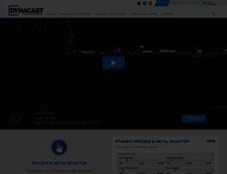 dynacast.com screenshot