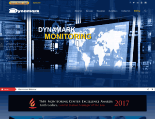dynamarkmonitoring.com screenshot