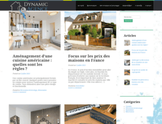 dynamic-agence.com screenshot