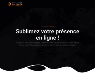 dynamic-art-design.com screenshot
