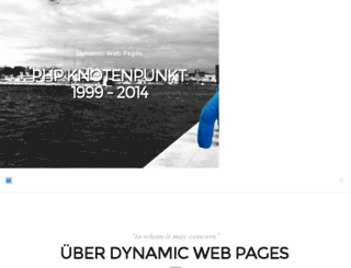 dynamic-webpages.de screenshot