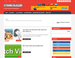 dynamicblogr.blogspot.com screenshot