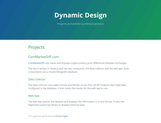 dynamicdesign.co.za screenshot