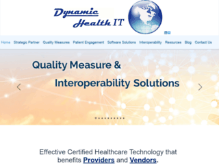 dynamichealthit.com screenshot