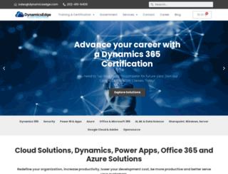 dynamicsedge.com screenshot
