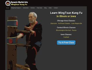 dynamicwingtsun.com screenshot