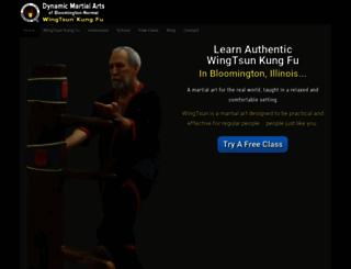 dynamicwingtsun.net screenshot