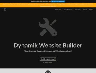 dynamiktheme.com screenshot