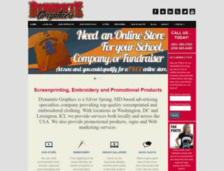 dynamite-graphics.com screenshot