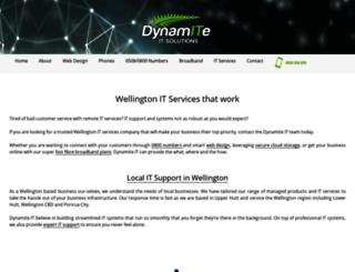 dynamite.net.nz screenshot