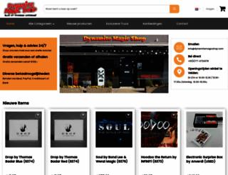 dynamitemagic.nl screenshot