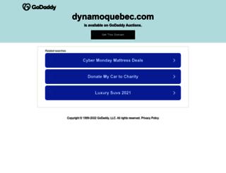 dynamoquebec.com screenshot
