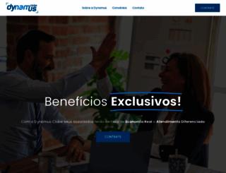 dynamusclube.com.br screenshot