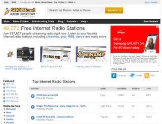 dynapub.shoutcast.com screenshot