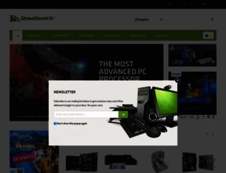 dynaquestpc.com screenshot