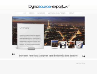 dynasource-export.com screenshot