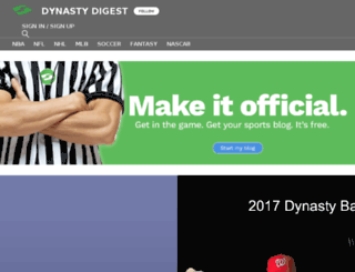 dynastydigest.sportsblog.com screenshot