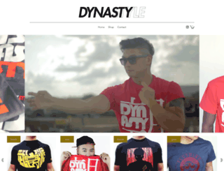 dynastystyle.com screenshot