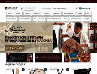 dynatone.ru screenshot