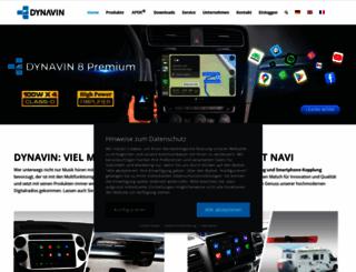 dynavin.com screenshot