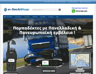 dynavin.gr screenshot