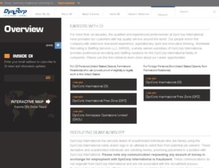 dyncorprecruiting.com screenshot