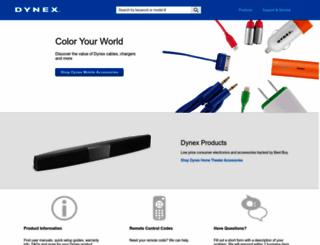 dynexproducts.com screenshot