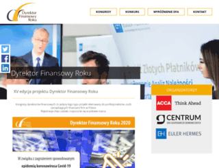 dyrektorfinansowyroku.pl screenshot