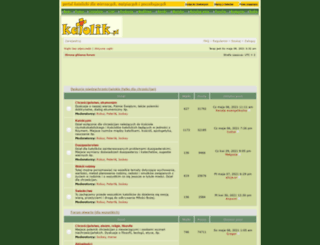 dyskusje.katolik.pl screenshot