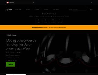 dyson.dk screenshot