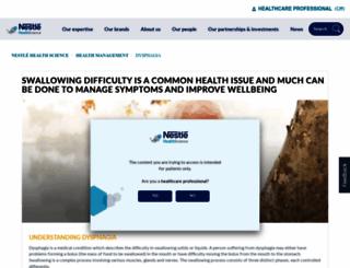 dysphagiaonline.com screenshot