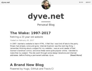 dyve.net screenshot